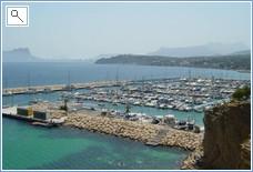 The marina at Moraira