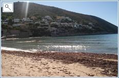Nearby El Portet Beach