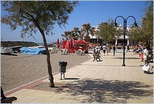 Beach at La Cala