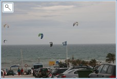 Kite Surfing in Winter on Cabopino Beach