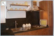 apartment kitchen - not with villa