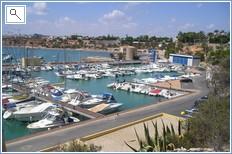 Cabo Roig Marina, one of many along the coast