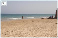 The area enjoys a choice of blue flag beaches