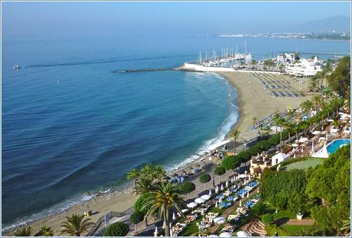 Panoramic View, Venus beach, Paseo Maritimo & Yacht Club