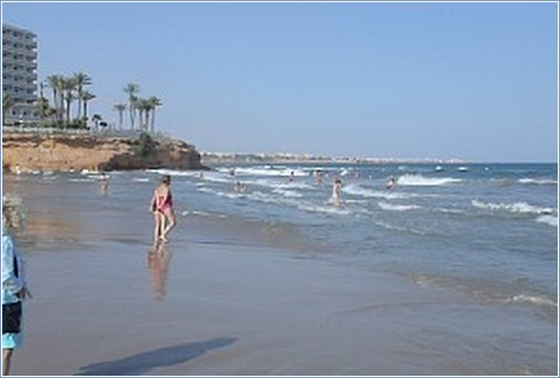 La Zenia, with plenty more lovely beaches