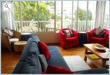 Lounge seats 6, views Pool & Marina