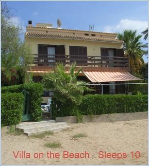 Rent La Manga Villa