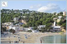 cala vadella beach