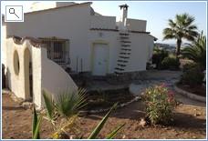 Kitchen door & side garden