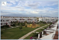 View towards Golf Course and Sierra Espuna