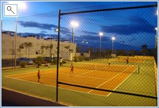 Condado Club Tennis courts
