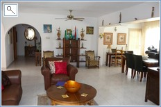 Open planned lounge, hallway to 3xbedrooms & bathrooms.