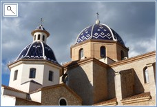 We are a 10min drive from Altea famous for its church+artist