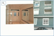 Apartment outside and entry hall
