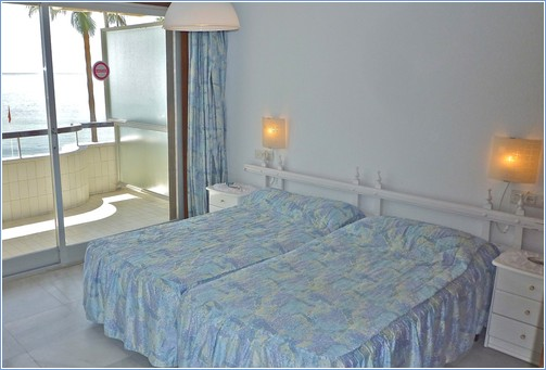 Double Bed Room with Marina & Sea View.