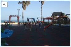 One of several local children's playgrounds