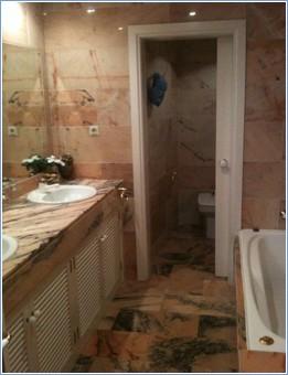 Master Bathroom including full bath