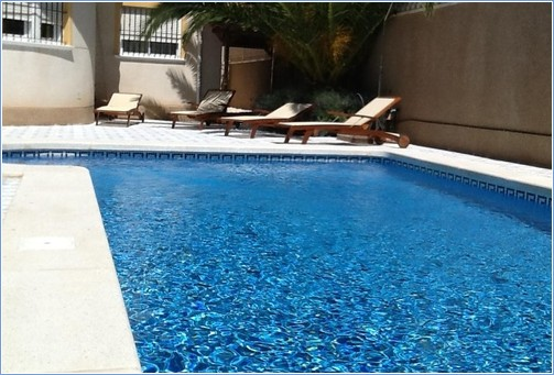 Lounge by your own 8m x4m Private Pool