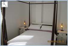 Large Double Bedroom Upstairs, built-in Wardrobes + en suite