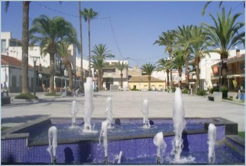 Algorfa town square