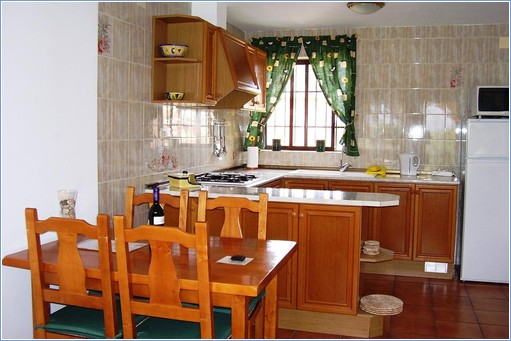 Dining area and American kitchen