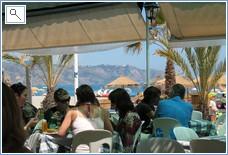 Lunch on Burriana Beach