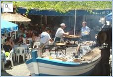 Paella at Ayo's on Burriana Beach