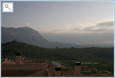 View from house-Montgo mountain