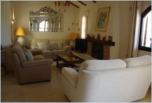 Lounge Area with Three Sofas