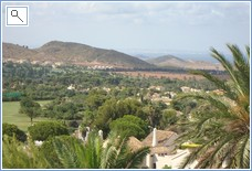 View from Balcony Golf Course and Mar Menor