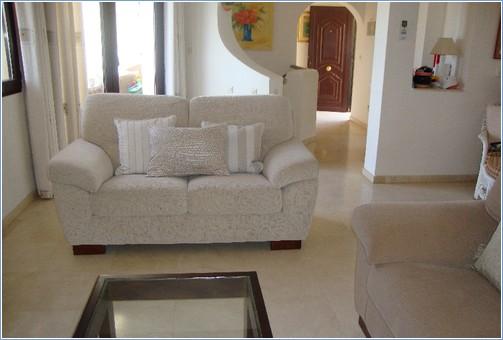 Lounge Area showing Small Sofa