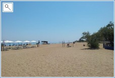 Wonderful safe sandy beach within 5 mins walk - 20kms of bea