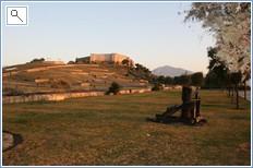 Fuengirola castle at dawn