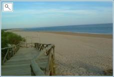beach an easy 10 minute walk from villa
