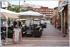 Restaurants at the newly revamped Mazarron port