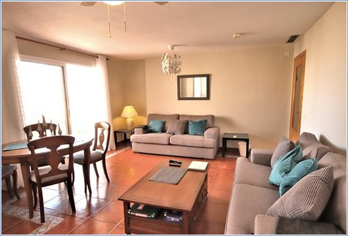 Spacious Lounge Area with patio doors onto the large terrace