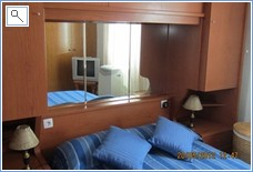 Master Bedroom with TV & Air Con