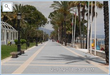 San Pedro promenade on a busy day!
