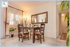 Dinning Area in Apartment.