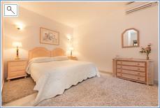 Apartments main bedroom with en-suite