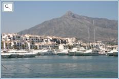 Nearby Puerto Banus Marina