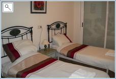 Third twin bedroom