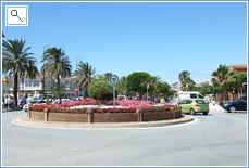 La Cala's pleasant town centre