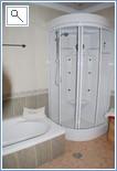 Power shower in Master Suite