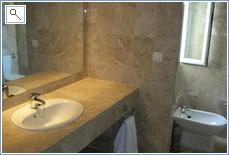 En Suite ( Bath, shower & WC out of vision)
