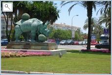 Salvador Dali sculpture - Puerto banus