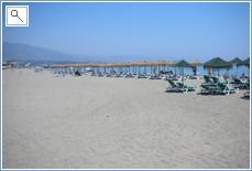 Beach at Puerto Banus