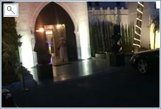 Oasis restaurant entrance