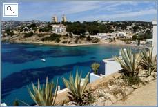 Beautiful El Portet bay