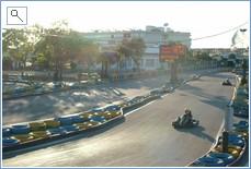 Ko-karting 5 minute drive away